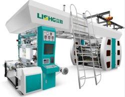 Saco de filme de papel de plástico flexográfica Flexo máquina de impressão
