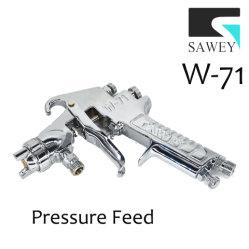 Sawey W-71 Manual de alimentação de pressão da pistola de bico de pulverização de tinta