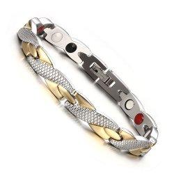 Criativos personalizados Dragon Bracelete magneto de aço titânio bracelete liga