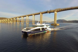 300 человек на борту катамарана алюминия пассажирское судно на скорость двигателя для продажи