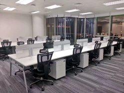 Sistema de escritório moderno mobiliário com secretária e armário de arquivos portáteis
