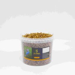 Proteína de Alta a granel alimentos para peixes/Bird dos géneros alimentícios/alimentos para animais feitos de Mealworms secas