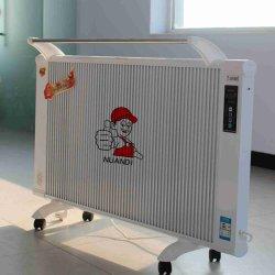 Los radiadores eléctricos en la pared con fibra de carbono
