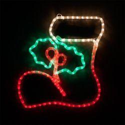 IP65 personalizada de notação de 2D ao factor de iluminação de Natal Motif Luz de Corda