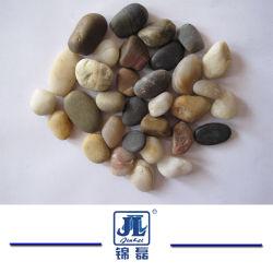Polido Natural Natural barato /Amarelo/Preto/Amarelo/branco Multicolor Pebble Stone/Cobblestone para pavimentação do jardim/Fora Flooring/parque infantil para pavimentação