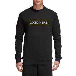 De Franse Unisex Raglan Sweatshirt Warm Sweater van Terry met het Embleem van de Douane