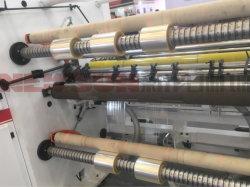 Le Pet BOPP Films papier rouleau contrôlés par le PLC de matériel et de refendage rembobinage de la machine
