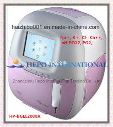 Instrumento de análise de máquina de Médicos analisador de gases no sangue (HP-BGEL2000A)