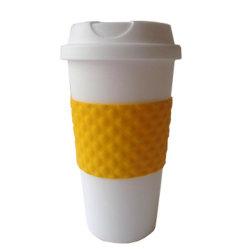 16oz Kaffeetasse mit Gummiplastikcup