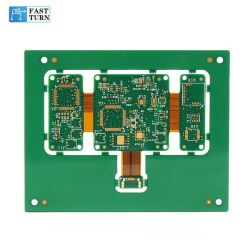 Carte de circuit imprimé flexible rigide Quick Turn Carte de circuit imprimé carte de circuit