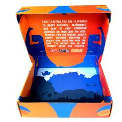 Venda por grosso de embalagem de envio personalizado personalizada para caixa de brinquedos