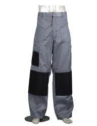 Proveedor chino de Tela pesada Ropa de trabajo confortable pantalón con la rodilla