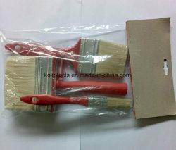 insieme di spazzola di plastica della pittura di pulizia della famiglia della fibra sintetica DIY della maniglia 4PCS