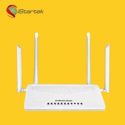5G أسعار رخيصة البطاقة البيضاء VoLTE RJ11 Port Dual Band موجّه لاسلكي 3G/4G بتقنية WiFi مع 4 فتحات لبطاقة SIM