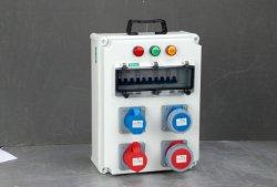 옥외 IP66 산업 이동할 수 있는 휴대용은 결합한 소켓 배급 상자를 방수 처리한다