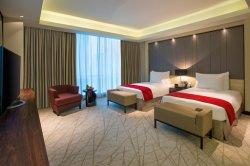 Mobilia moderna della stanza della doppia base della camera da letto dell'hotel delle stelle del lusso 5 di stile antico