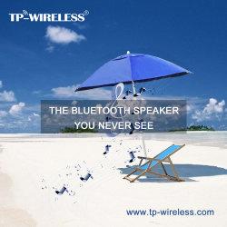 Высокого класса Smart звука зарядки солнечной энергии на открытом воздухе пляжный зонтик Bluetooth оратора на пляже кемпинга рыболовных