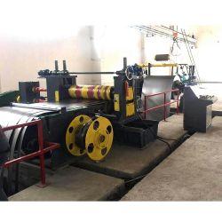 Het elektrische Staal die van het Silicium Lijn met de Machine scheuren die van Rewinder van de Snijmachine Decoiler Machine scheuren