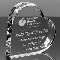 Хрустальное стекло сердце плотность бумаги