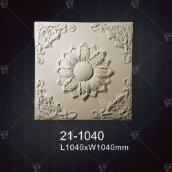 Customed Eco-Friedly fait médaillons en polyuréthane décoratif décoration pour la maison en stock Fabriqués en Chine