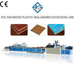 Plastic Machine van de Machine van de Lijn van de Uitdrijving van het Profiel PVC600 WPC van de fabriek de In het groot