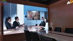Enbon afficheur LED du panneau mobile de vidéosurveillance P2.98 avec des masques Fly Bar pour la pendaison en treillis
