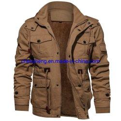 Pilote militaire de haute qualité Mens veste polaire d'hiver vestes épaissir vêtements plus chauds Veste Taille
