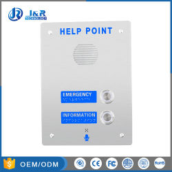 高耐久性ステンレススチール 3G/GSM 緊急コールボックス、 Handsfee Metro ヘルプポイント