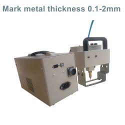 Hot Sale qui a eu lieu à main électrique portable martelage de points de l'acier la gravure de l'axe machine de marquage