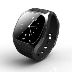 Het aangepaste Gepersonaliseerde M26 Scherm Waterdichte Smartwatch van de Aanraking van het Polshorloge Draagbare