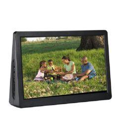 شاشة عرض إعلانية مزدوجة مزودة بالمصنع مزودة بشاشة LCD مقاس 15.4 بوصة مزودة بإطار صور رقمي