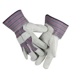 Короткое замыкание сварки защитные перчатки Cowhide кожаные перчатки рабочие перчатки
