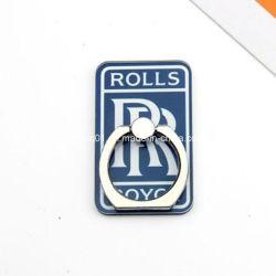 Anel de plástico suporte telefónico personalizado com impressão de logotipo para decoração