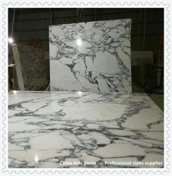 Weiß/Schwarzes/beige Steinquarz, Marmor, Granit-Platte für Countertop und Bodenbelag-Fliese-Projekt