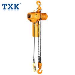 Txk double vitesse 2 tonne palan à chaîne avec double chaîne