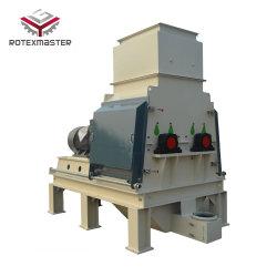 Máquina trituradora de madera de aserrín de alta eficiencia molino de martillo de doble rotor astillas de madera de trituración