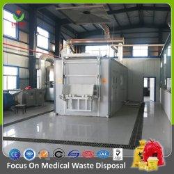 Hospital Medical resíduos com micro-ondas equipamento de desinfecção Biomedical Resíduos infecciosos tratamento 10