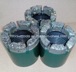 TC (Tungsten Carbide) T.C. Carberit Core Drill-bit voor de vorming van zachte rotsen