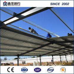 H-section de Construction en acier de construction de maison de la volaille