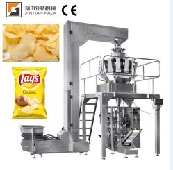 High Speed Vertical Type Packing machine snacks Crisps Puff voedsel Banaan chips stikstof spoelen