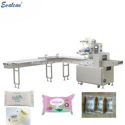 Het automatische Verpakken van het Hoofdkussen van de Stroom om de Machine van de Verpakking van de Zak van de Staaf van de Zeep van het Toilet