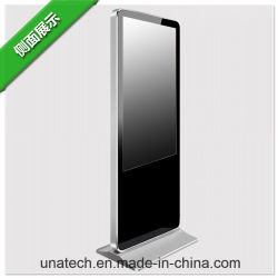 Stehender Innenfußboden horizontale/vertikale Bildschirm-Bildschirmanzeige des Totem-Kiosk-Digital-WiFi video Zeichen-TFT LCD des Monitor-LED Media Player