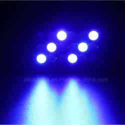 18PCS RGB Lichte Plastic Shell Binnen het Verfraaide LEIDENE Licht van de Stroboscoop