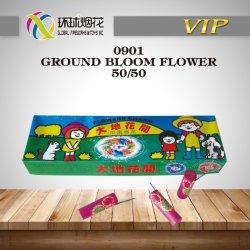0901-masse Bloom Fleur d'enfants Outdoor Spinner 1.4G Fireworks sécuritaire