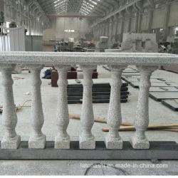 Geflammte weiße Balustrade des Granit-G603 für Balkon/Terrasse