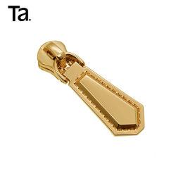 Curseur à glissière en métal custom Gold extracteur pour accessoires de sac à main