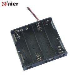 Ремонт черного пластика 4 элемента 4AA 6V держатель аккумулятора .
