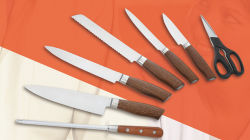La lama di cucina dell'acciaio inossidabile di alta qualità 7PCS ha impostato per lo strumento della cucina