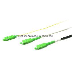 Sc LC FC St Jumper Óptico Padrão de Equipamento de comunicação de fibra óptica