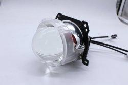 35W a conduit les anneaux de halo de lumière la lentille du projecteur Bi Xenon